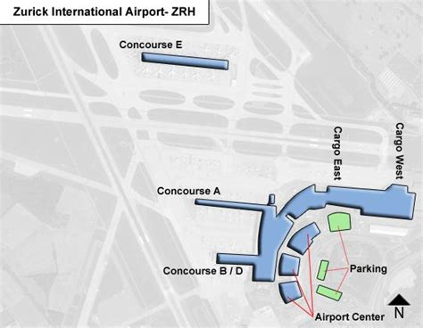 zurich airport layout map zurich zrh airport terminal map
