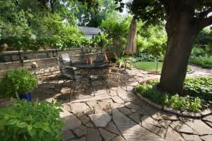 Pictures Of Gardens With Patios by Stylish Garden Decor Tips