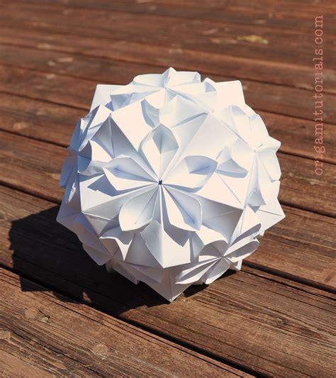 Tomoko Fuse Origami - cherry blossom kusudama by tomoko fuse origami
