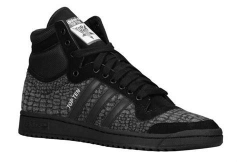 adidas originals top ten  retro mens shoes croc pattern
