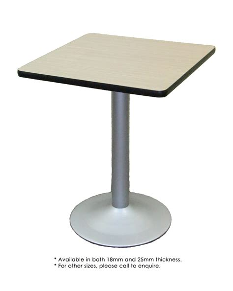 Melamine Table by Melamine Formica Table Top Central Iron