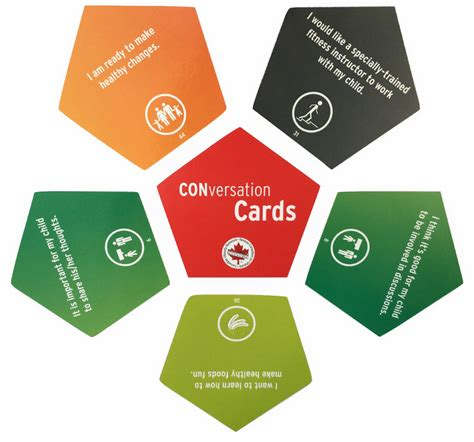 Weight Of A Gift Card - conversation cards a useful tool in pediatric weight management