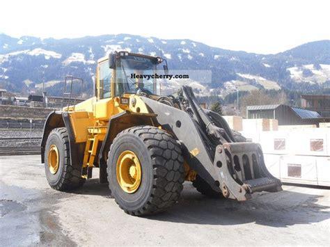 volvo l220 e 2005 wheeled loader construction equipment
