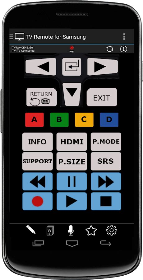 tv remote for samsung wifi and ir remote android apps on play