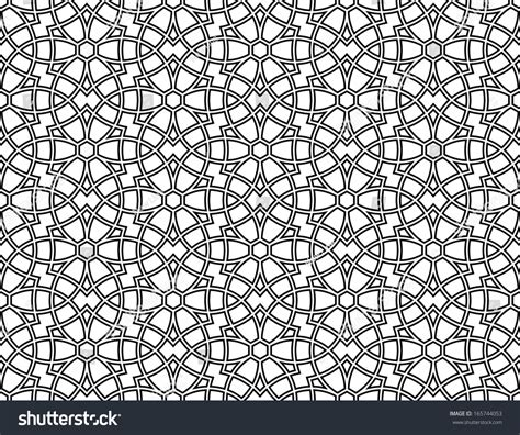 arabic seamless pattern ornamental pattern arabic seamless pattern moroccan stock