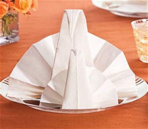 Paper Napkin Folding Styles - and easy entertaining ideas napkin folding