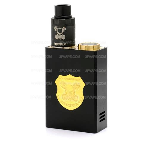 Underground Style Series Mechanical Kit underground series style black mechanical box mod rda kit