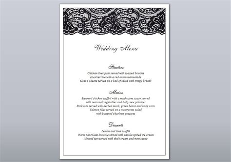 10 event menu designs design trends premium psd