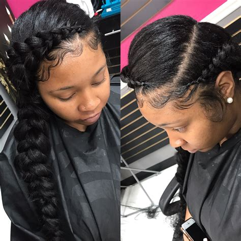 Butterfly braid #houstonbraider @styledby yalemichelle   hair   Pinterest   Butterfly braid
