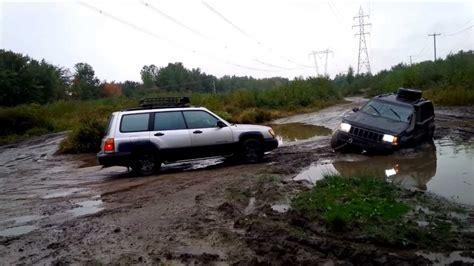 jeep subaru subaru rescues jeep zj
