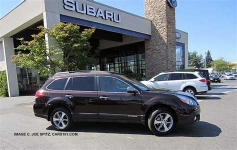 brilliant brown pearl subaru outback 2013 exterior photographs page
