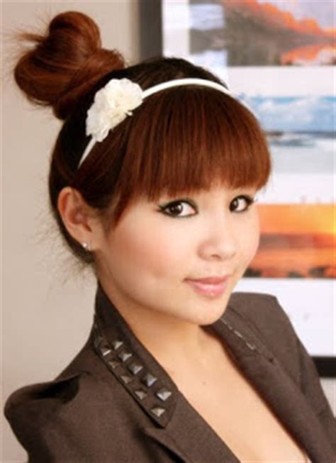asian hairstyles buns ebeautyblog com japanese hair bun tutorial
