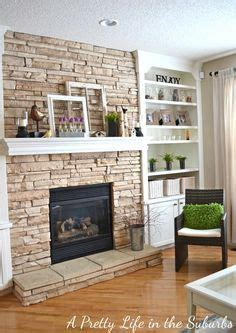 stone with built ins fireplaces stone fireplaces and built ins on pinterest