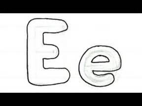 draw bubble writing easy letter