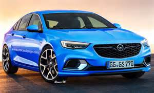 Opel Opc Opel Insignia Grand Sport Opc Looking Like The Real Deal