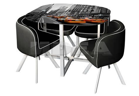 Set Meli by комплект трапезна маса и столове мели сет такси Meli