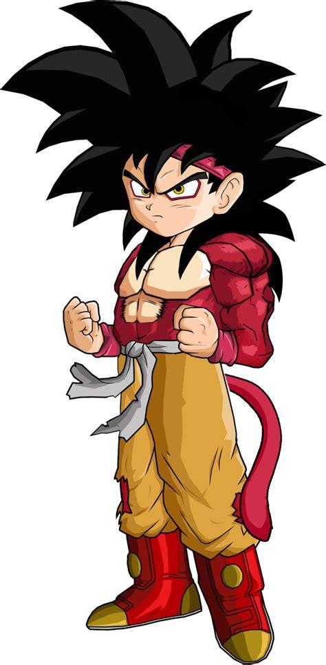 Iphone 8 Supreme Kid Goku Hardcase 1 image goku jr ssj4 by spongeboss png af