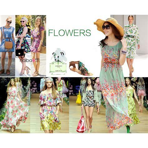 desain dress motif bunga dress wanita motif bunga bohemian all size motif 11