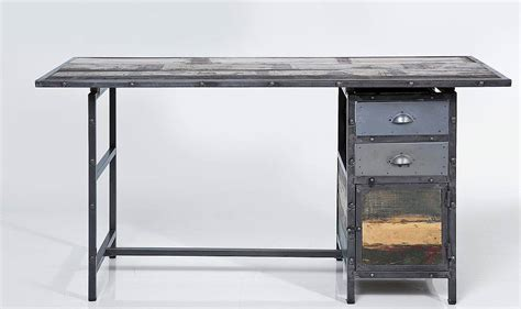 industrial style desk with drawers industrial style the aesthetic