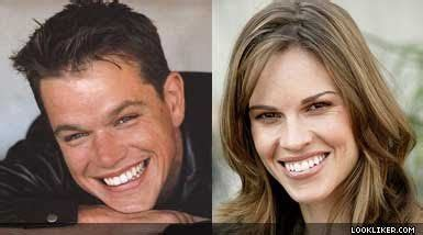 hilary swank look alike 41 best images about celebrity lookalikes on pinterest