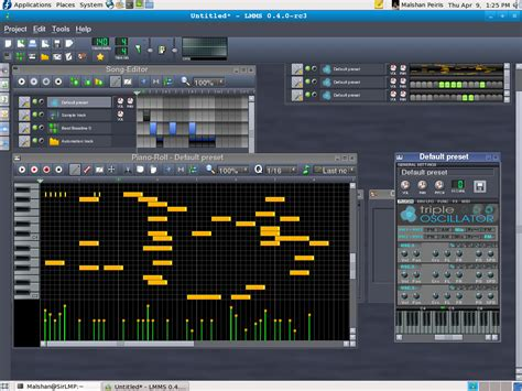 tutorial linux multimedia studio lmms linux multimedia studio a fl studio like foss