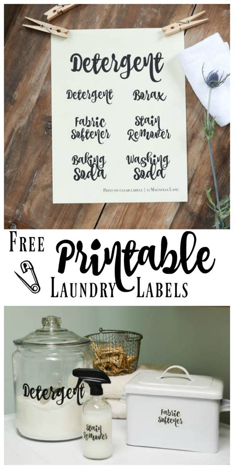 printable laundry tags laundry room organization and printable labels creative home
