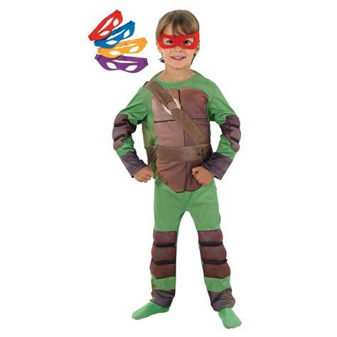 boys mutant turtles padded costume dunbar