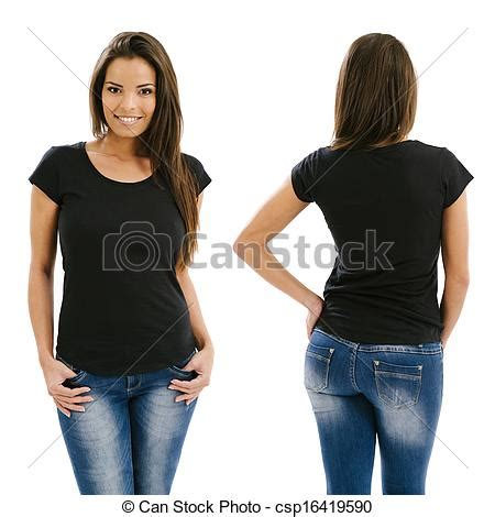 Artist Tees Back In Stock At Beautiful Decay by Stock Photographs Of Posing With Blank Black