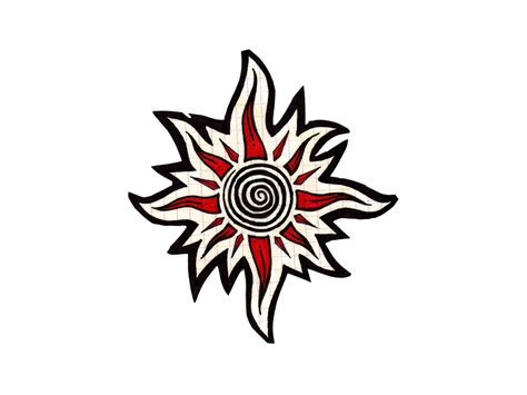 round tribal tattoo designs circular tribal designs images