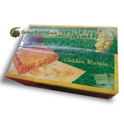 Jumbo Golden Raisin golden raisin jumbo dari india 5kg 1 dus grosir