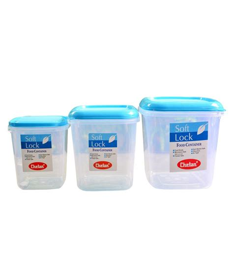 kitchenware online chetan plastic kitchen storage containers airtight 3 pc