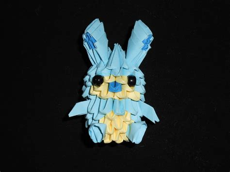 Origami 3d Rabbit - 3d origami rabbit by wurmiii on deviantart