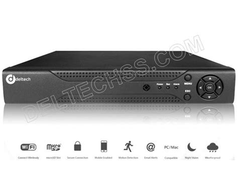 Dvr Ahd 8ch Ztc 1208 by Ds Hvr1208 Deltech 8ch Analog Hd Dvr New Products