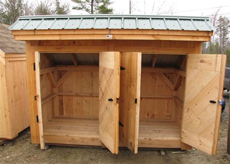 Garbage Shed by Garbage Can Shed Trash Shed Outdoor Trash Can Enclosure