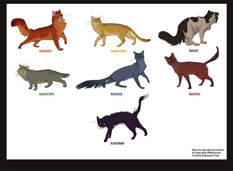 warrior cats warrior cat names images frompo