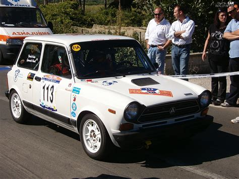 Rally Aufkleber Auto by Rally Automobile Race Stickers Autobianchi A112 Cars