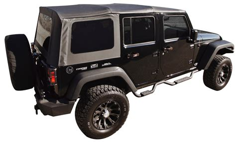Different Jeep Tops Rage Products 99935 Replacement Soft Top With Tinted