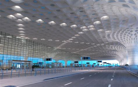 design elements mumbai dichroic glass in the ceiling design of mumbai airport