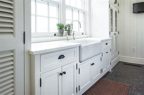 White Cabinets Laundry Room White Laundry Cabinets With Shiplap Backsplash Transitional Laundry Room