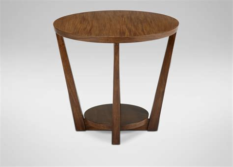 large round accent table glendale round end table side tables