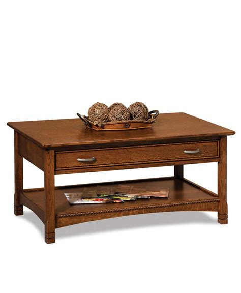 coffee table that opens for west lake open coffee table amish direct furniture