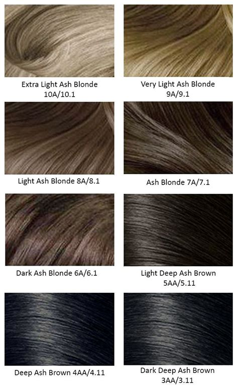best 25 hair color charts ideas on garnier