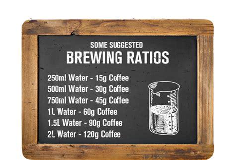 Brewing Guide ? Ue Coffee Roasters Ltd
