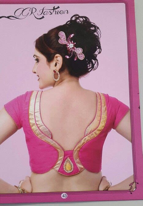 fashion design blouse neck pattern 34 best ggr fashion blouse images on pinterest saree
