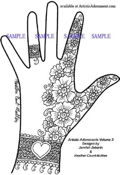 free patterns henna by heather