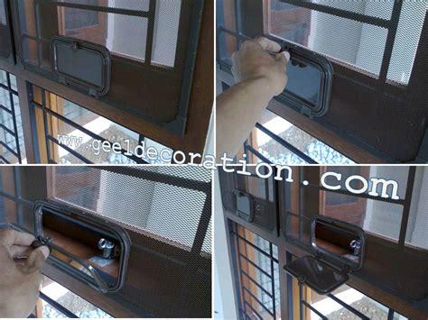 Pintu Expanda Kasa Nyamuk Aluminium 1600001 kawat nyamuk aluminium frame magnet pintu jendela kasa