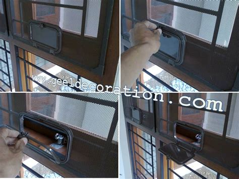 Frame Jungkat Jungkit kawat nyamuk aluminium frame magnet pintu jendela kasa nyamuk teralis expanda