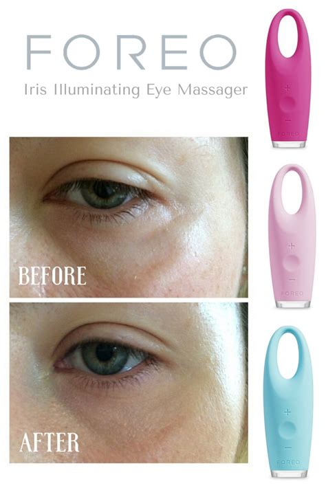 Eye Masager foreo iris review illuminating eye massager tool