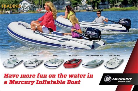 inflatable boats australia sale new mercury hypalon inflatable boats for sale in croydon