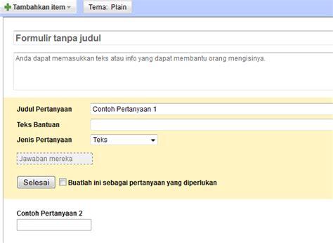 membuat web pendaftaran online cara membuat formulir pendaftaran online di blog atau